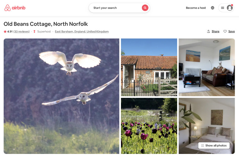 Check for availability, prices and book your stay on our AirBnB website page